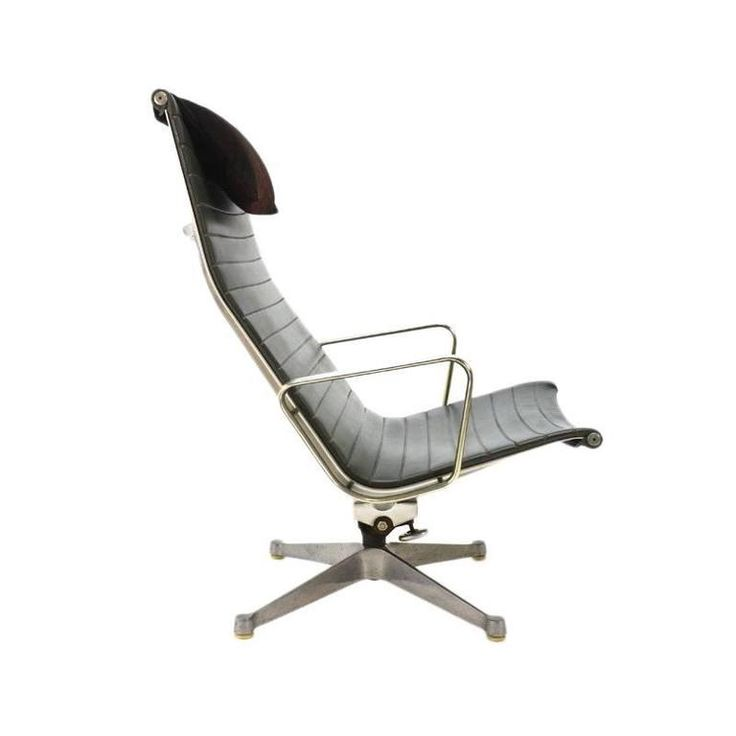 Eames Herman Miller Aluminium Group Lounge | From a unique collection of antique and modern lounge chairs at https://www.1stdibs.com/furniture/seating/lounge-chairs/