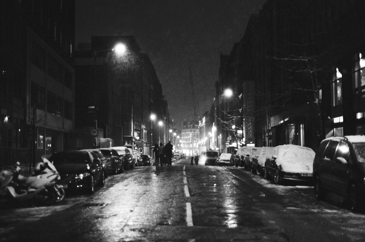 Night time film photography ilford 3200