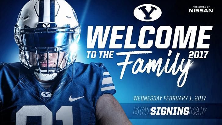 2017 BYU Football Signing Day Central | The Official Site of BYU Athletics