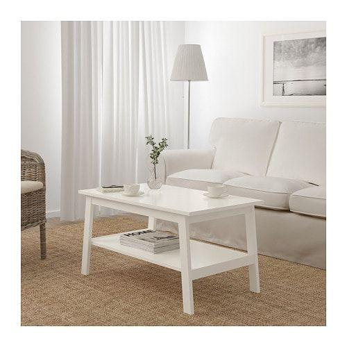 Lunnarp Table Basse Blanc Deco Salon Table Basse Salon