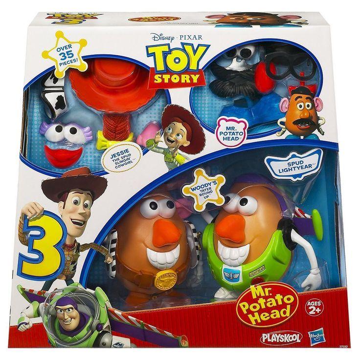 Nib Disney Pixar Toy Story 3 Mr Potato Head 174 Play Set