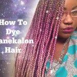 The Right Way To Color Kanekalon Hair [Video]