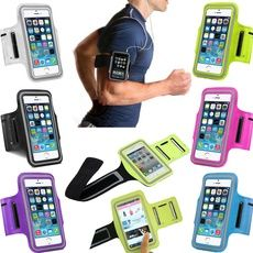 Running Gym iPhone 5 Armbands Outdoor Sports Fitness Mobile Phone Holder Armband Bags Running Arm Bags Waterproof Cases for iPhone 5/5s/5c/6/6s/6 plus/6s plus