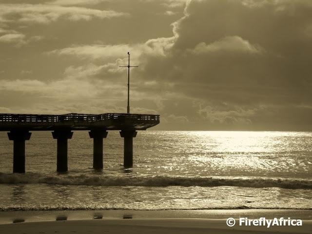 Mid morning pier