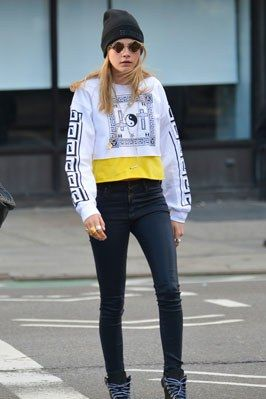 Crop Tops Aren't Just For Summer! Learn How To Wear Yours This Fall Like Your…