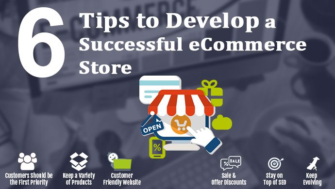 6 Tips to Develop a Successful #eCommerce Store or #eCommerceWebsite  Do you have an online #ecommerce store? Looking for someone who will make your #ecommerce store better than it is? Then Contact #AlingaeCommerce today to make your #ecommerce #store into an extraordinary business with maximum return on investment.