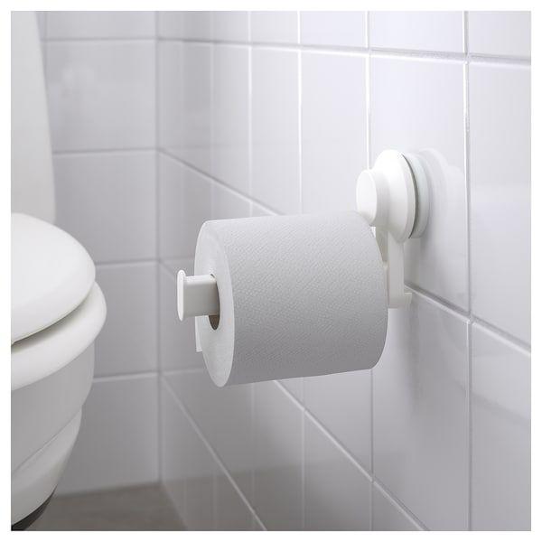 Tisken Support Porte Rouleau Wc A Ventouse Blanc Ikea Porte Rouleau Wc Distributeur Papier Toilette Salle De Bains Papier Peint