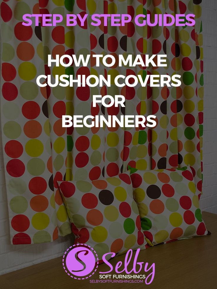 New to sewing and fancy making some cushion covers for your home for Spring? Have a look at our highly detailed, step by step tutorial on how to make cushion covers for beginners. Each step is clearly photographed and laid out so you can follow along.