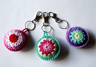 key ring crochet