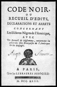 13 avril 1709 : L'intendant Raudot légalise l'esclavage en Nouvelle-France http://jemesouviens.biz/?p=5892