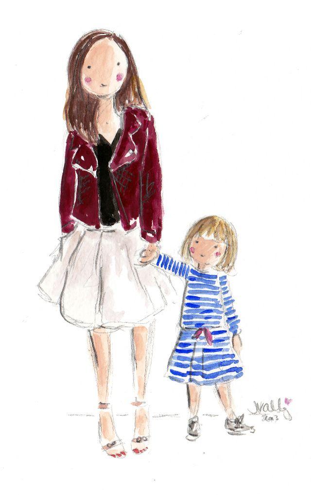 retrato personalizado Jennifer Vallez para o Pequenas Escolhas