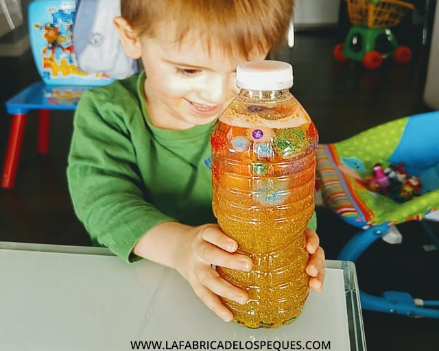 Botella de la calma Montessori