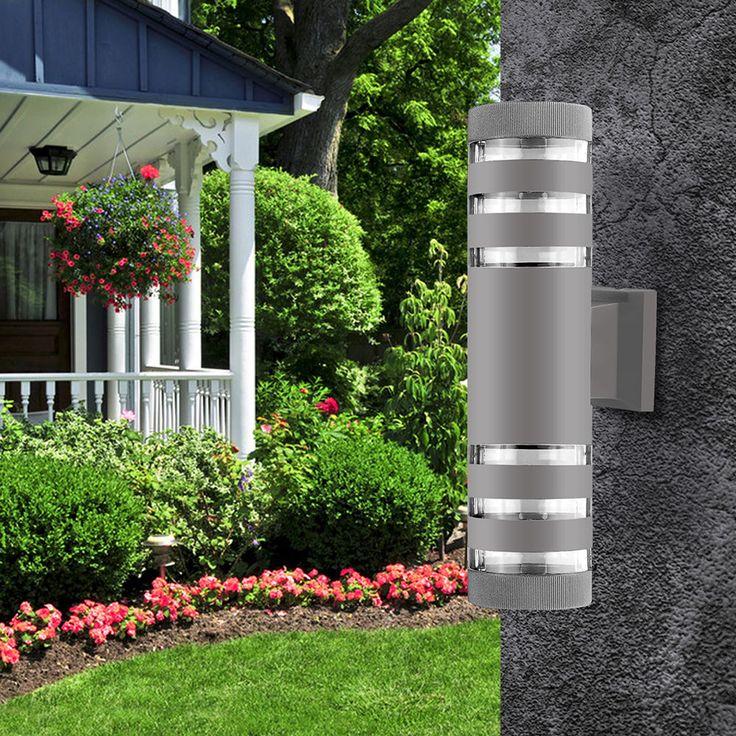 Outdoor Up & Down LED Wandhalterung Leuchte Wandleuchte Außenveranda Patio #U …