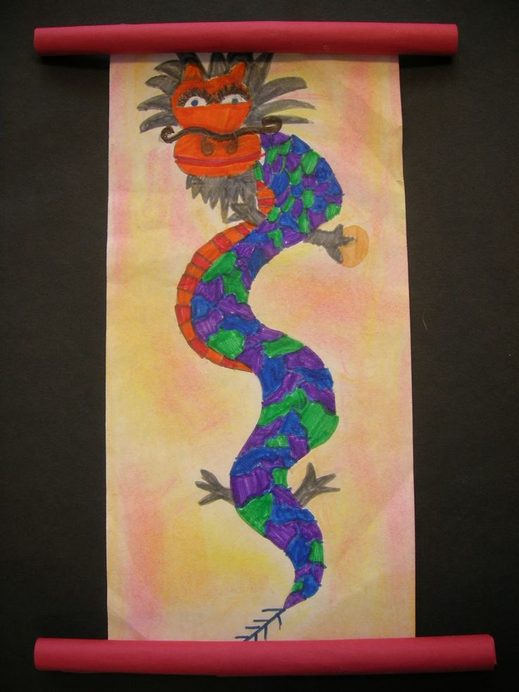 The Elementary Art Room!: Chinese Dragons