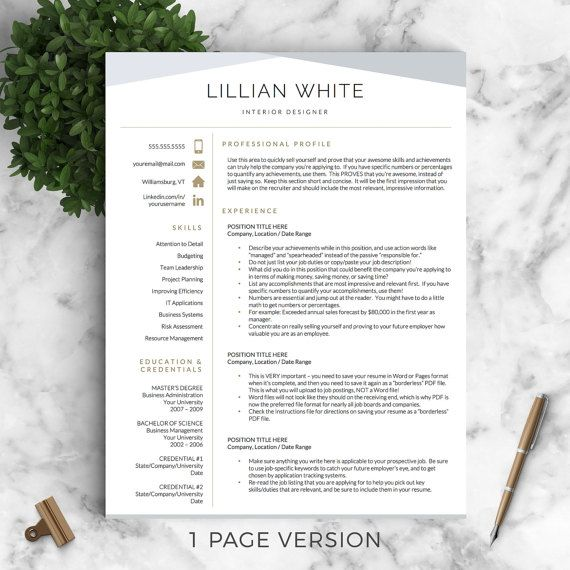 1000  ideas about resume templates word on pinterest