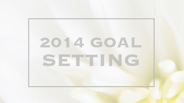 The beginning of goal setting for 2014 with Whitney English's Day Designer and Lara Casey's Goal Setting Series.  #newyearsresolutions #goals #2014