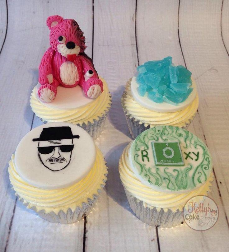 Breaking Bad cupcakes  - Cake by Kelly Hallett