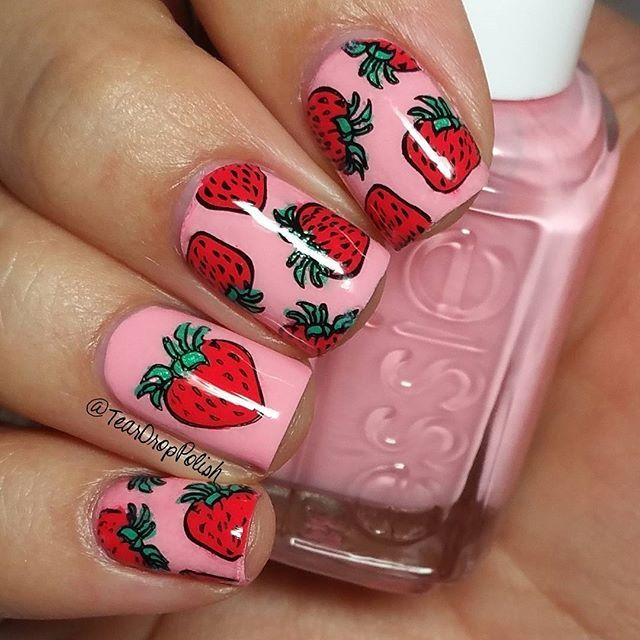 Instagram photo by @ teardroppolish  #nail #nails #nailart