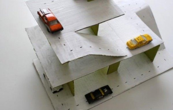 juego parking carton