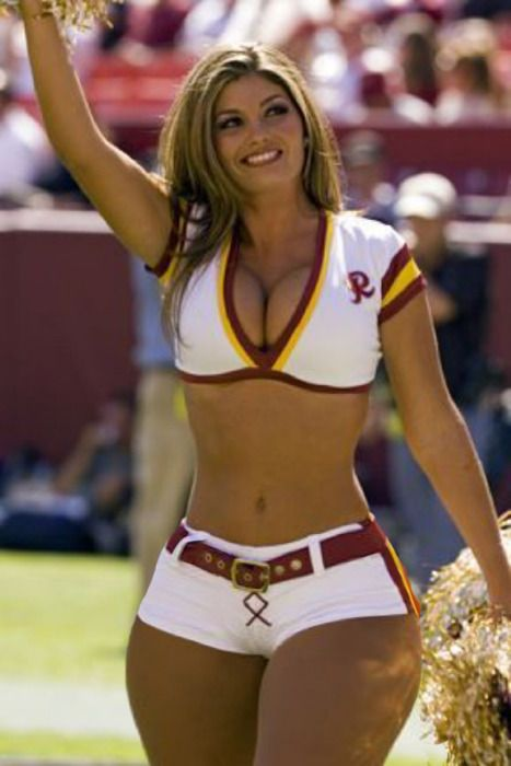 Cheerleader Curvy Girl Pinterest Beautiful Nfl
