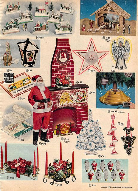 1956 xx xx sears christmas catalog p293 by wishbook via flickr - Sears Christmas Decorations
