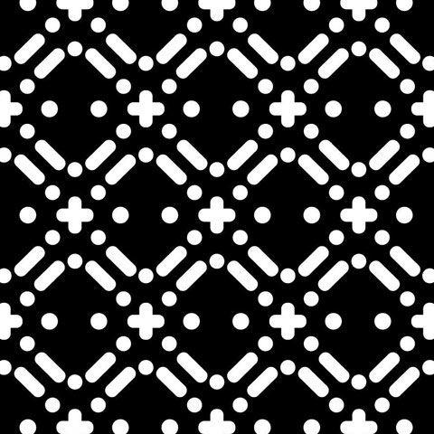 Tôle perforée sur mesure - Présentation de motif perforé selon différents effets de design