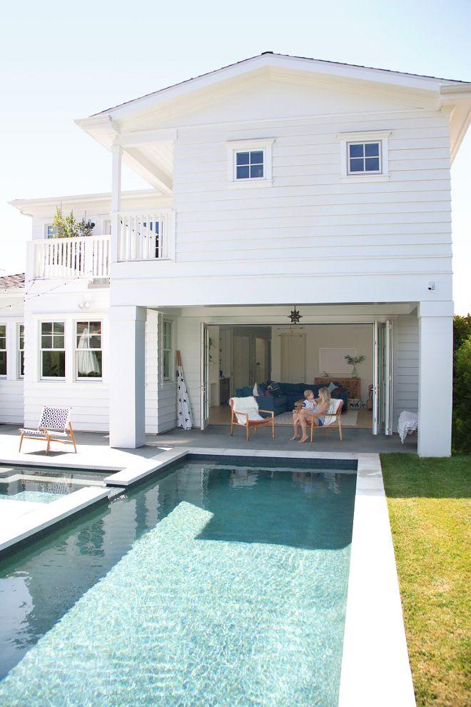 Beautiful Homes Of Instagram Backyard Beautiful Homes Of Instagram Backyard With Pool Long Pool On California Beach House Beach House Design Beach House Decor