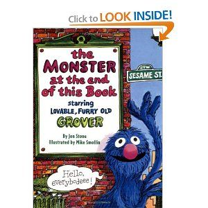 The Monster at the End of This BookSesame Street, Remember This, Reading, Growing Up, Childhood Book, Favorite Book, Monsters, Kids Book, Children Book
