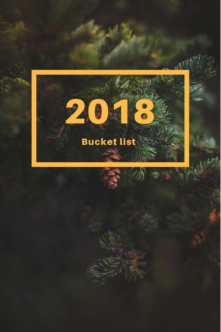 "It is only natural that my first post for this year is a bucket list. And I say bucket list, because when I set up ""resolutions"", it never works out …"