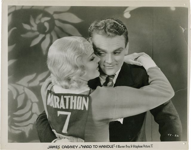 Portrait of James Cagney and Mary Brian from Hard to Handle.
