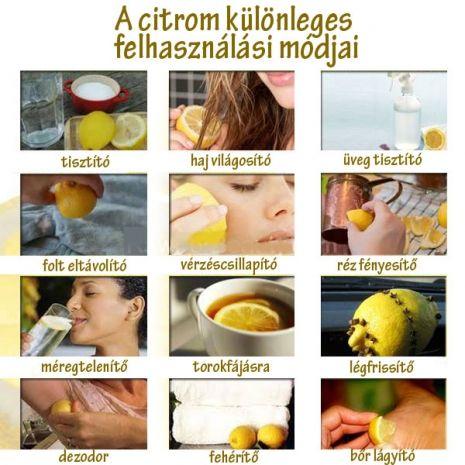 Citrom felhasználása: Lemons, Idea, Beauty Tips, Food, Remedies, Healthy, Unusual, Natural, Diy