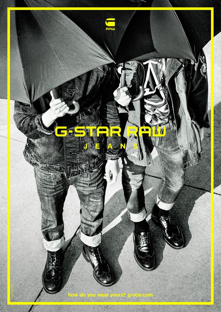 G-Star Raw, Fall/Winter 2015 - Ad Campaign