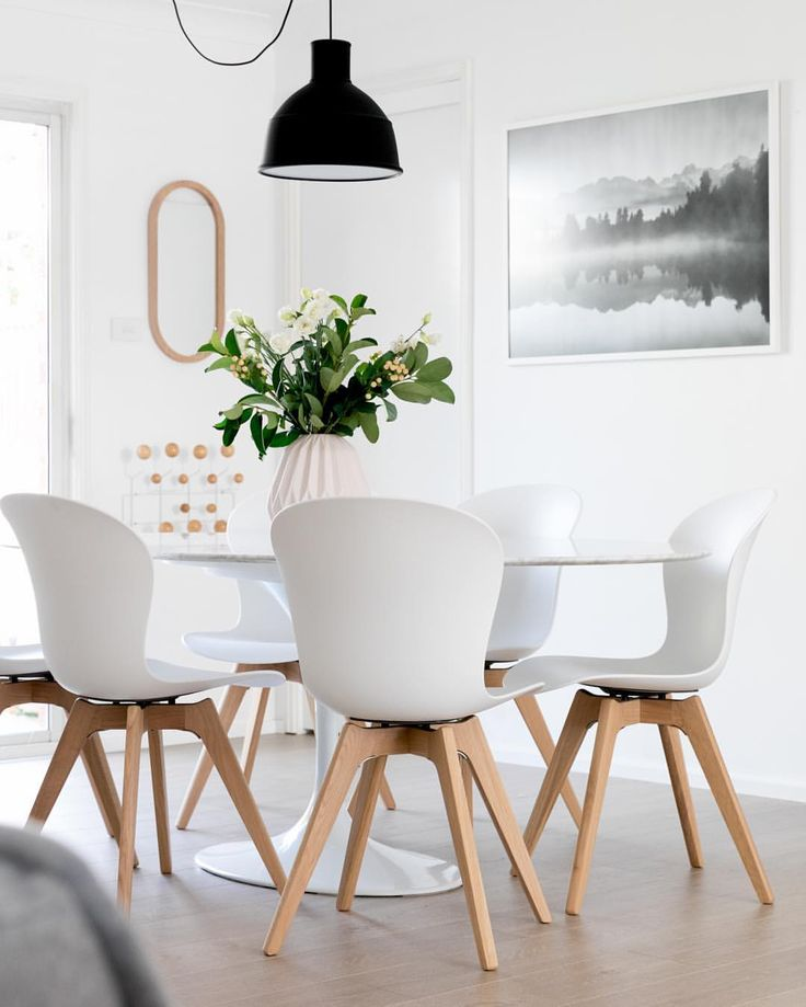 Omg This Is Goals Dining Table And Chairs