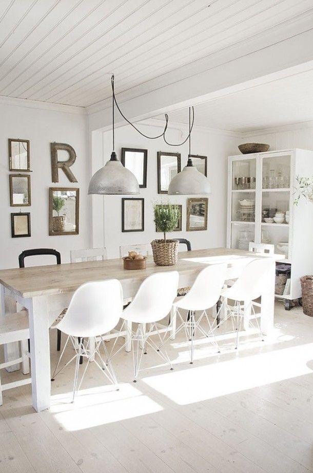 Mooie tafel en stoel combinatie