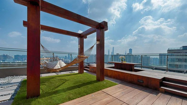 The View, Penthouse rooftop: Interior designed by A.RK ... on Rk Outdoor Living id=68425