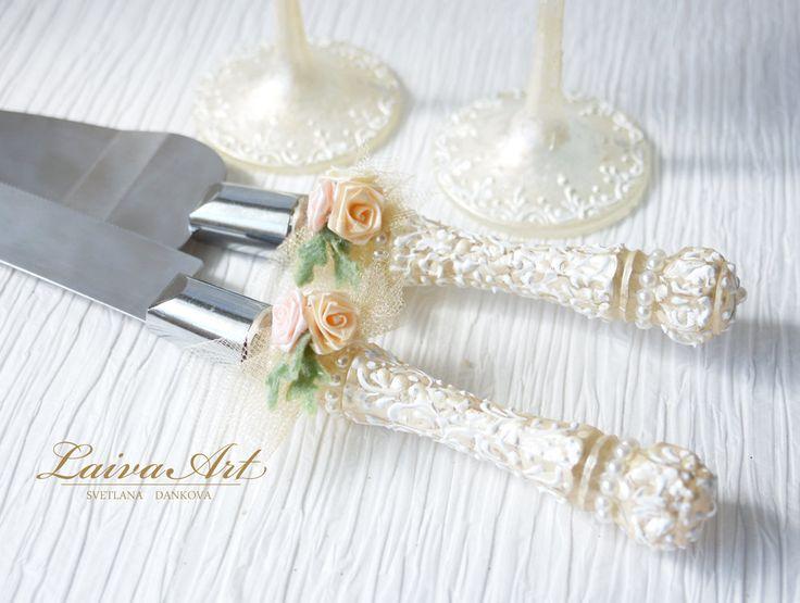 277 Best Images About Wedding Cake Server Set Amp Knife On Pinterest