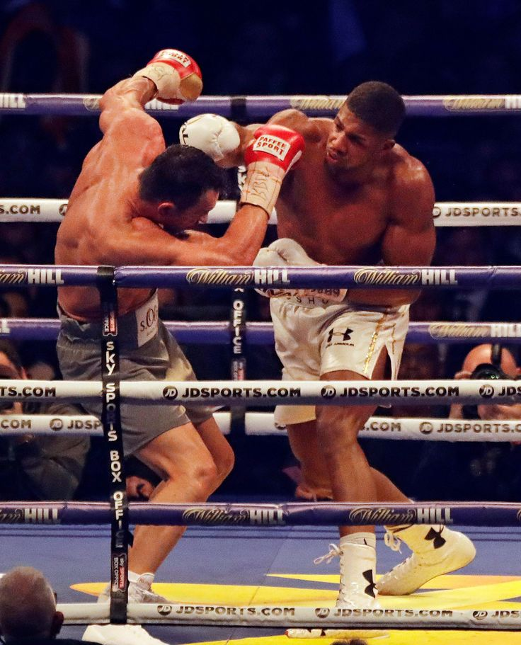 Anthony Joshua beats Wladimir Klitschko in epic heavyweight fight