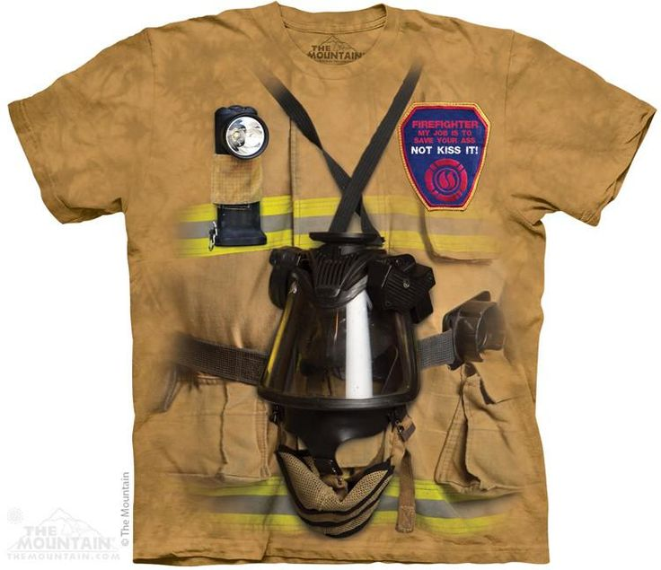 FIREFIGHTER JOB T-SHIRT BY THE MOUNTAIN®