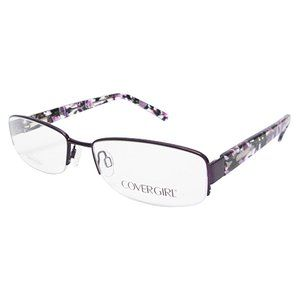 covergirl womens optical eyeglass frames violet womens optical eyeglasses and womens
