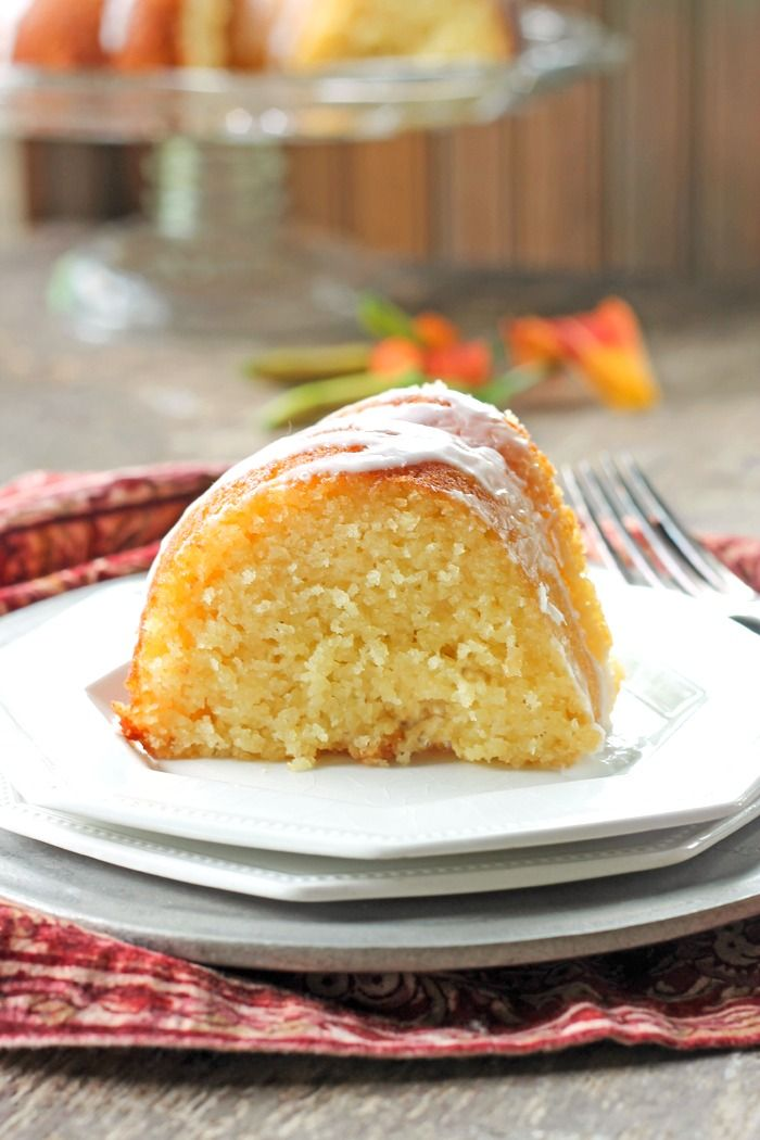 Glazed Lemon Ricotta Cake Is Made In A Bundt Pan It S Extremely Moist And Tender Thanks To The Ricotta Cheese In The Batter