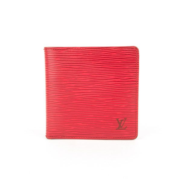 Pre-Owned Louis Vuitton Epi Leather Bifold Wallet