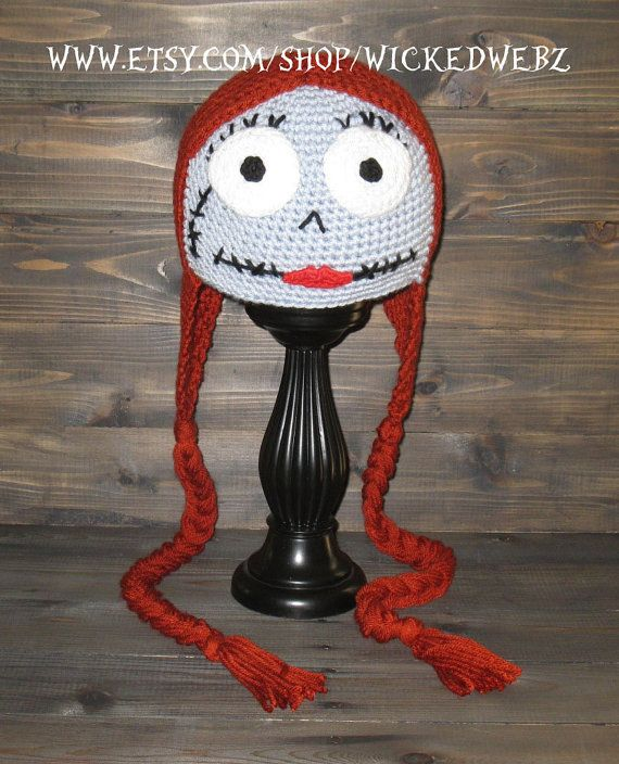 Sally Nightmare Before Christmas ADULT size crochet by WICKEDWEBZ