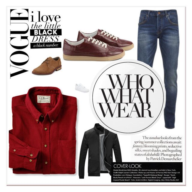 homem magro by noemygdc on Polyvore featuring L.L.Bean, Scotch & Soda, Original Penguin, NIKE, Essie, Who What Wear, men's fashion and menswear