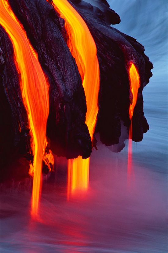 Awesome Fall Wallpapers Flow Into The Ocean Lava Photography By G Brad Lewis