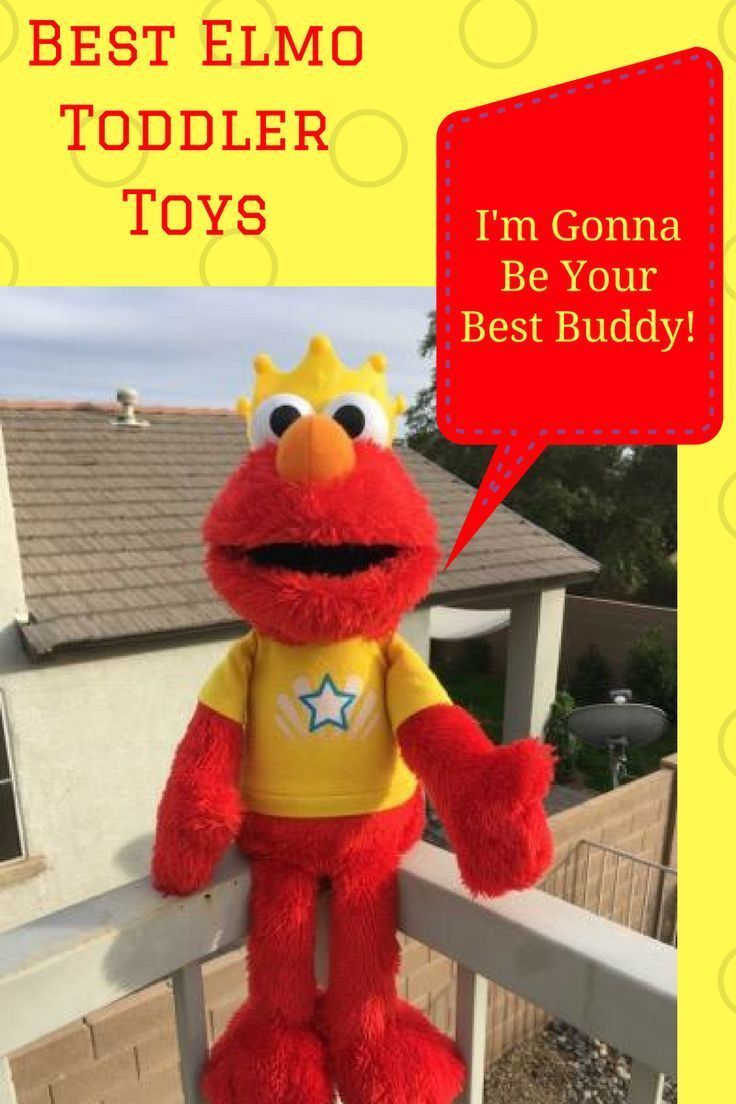 Best Elmo toys for toddlers features the top learning toys for toddlers! My daughter loved ELmo, such an educational character.