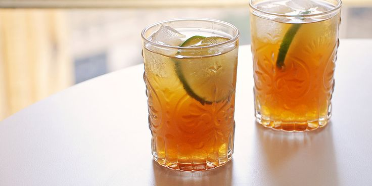 Beat the heat with an exotic take on an old classic: the tamarind dark and stormy.