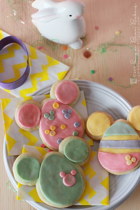 Sugar Bean Bakers: {Mickey Mouse Easter Egg Cookies}