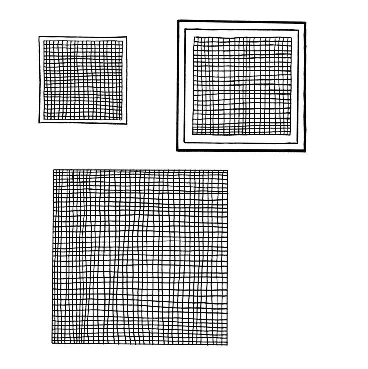 Squares for Print by Sasha Tugolukova