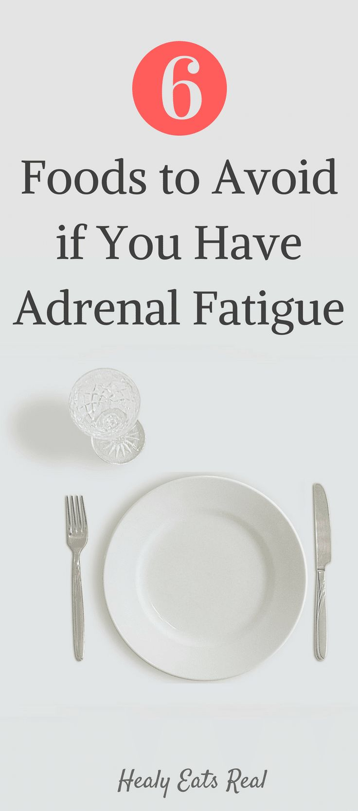 6 Foods to Avoid on Any Adrenal Fatigue Diet! If you have adrenal fatigue, do your hormones and metabolism a favor and avoid these foods for full recovery!