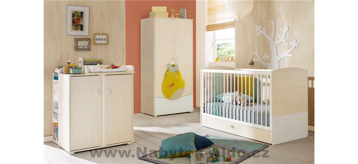 Dětský pokoj pro miminko i předškoláka Ludo P0P